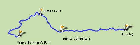 Prince Bernhard Falls Trail